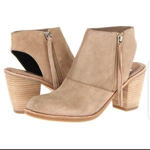 Dolce Vita Jentry open back ankle booties 7.5